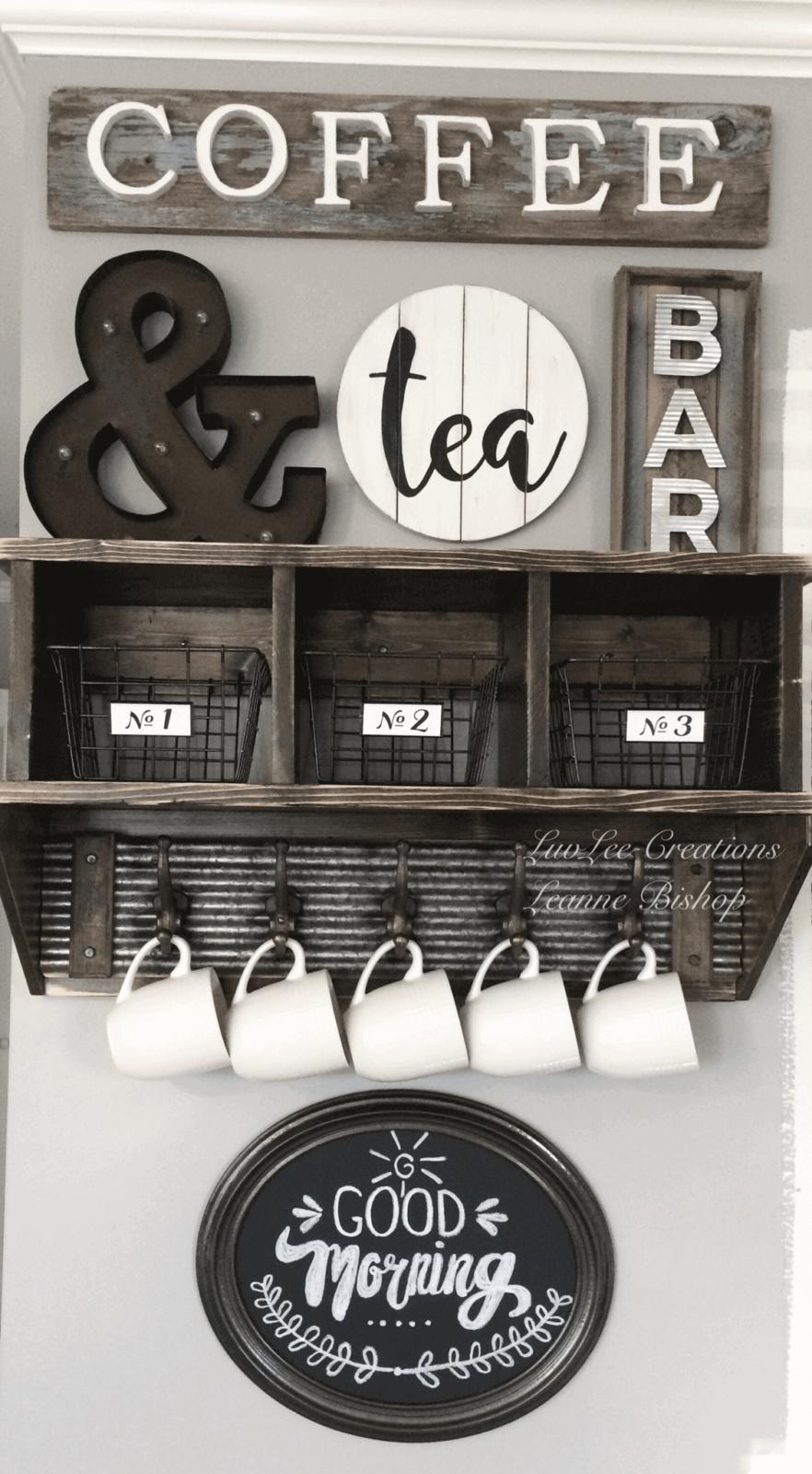 coffee bar sign ideas