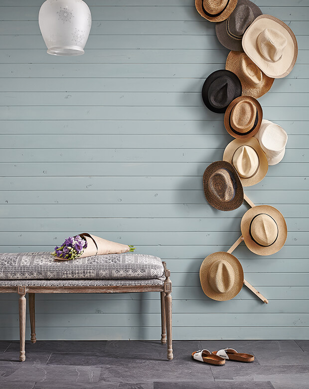 diy cowboy hat rack