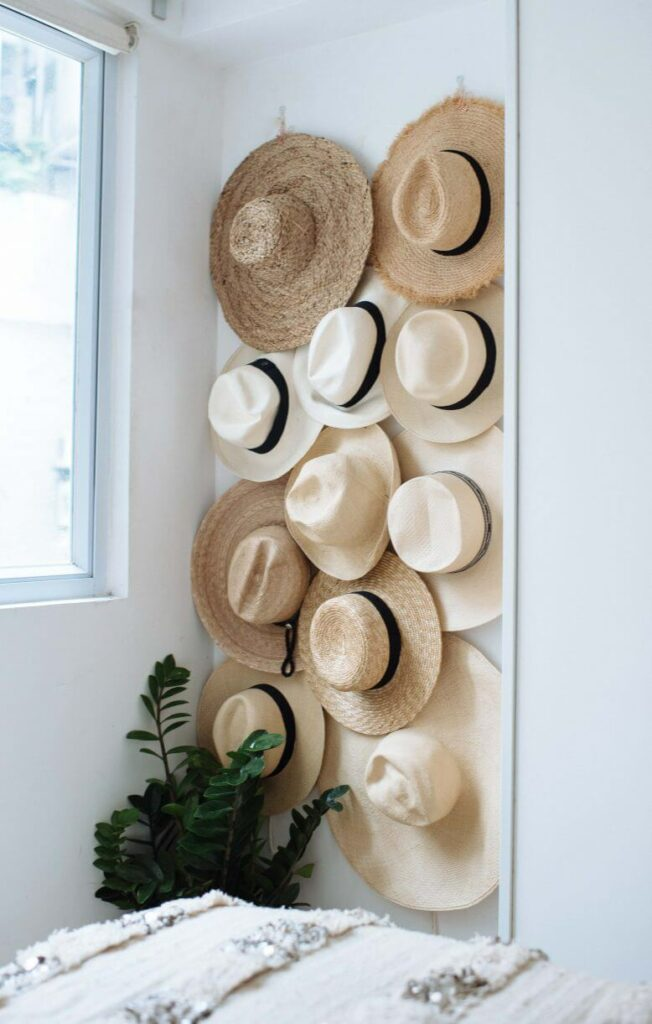 diy hat hanger