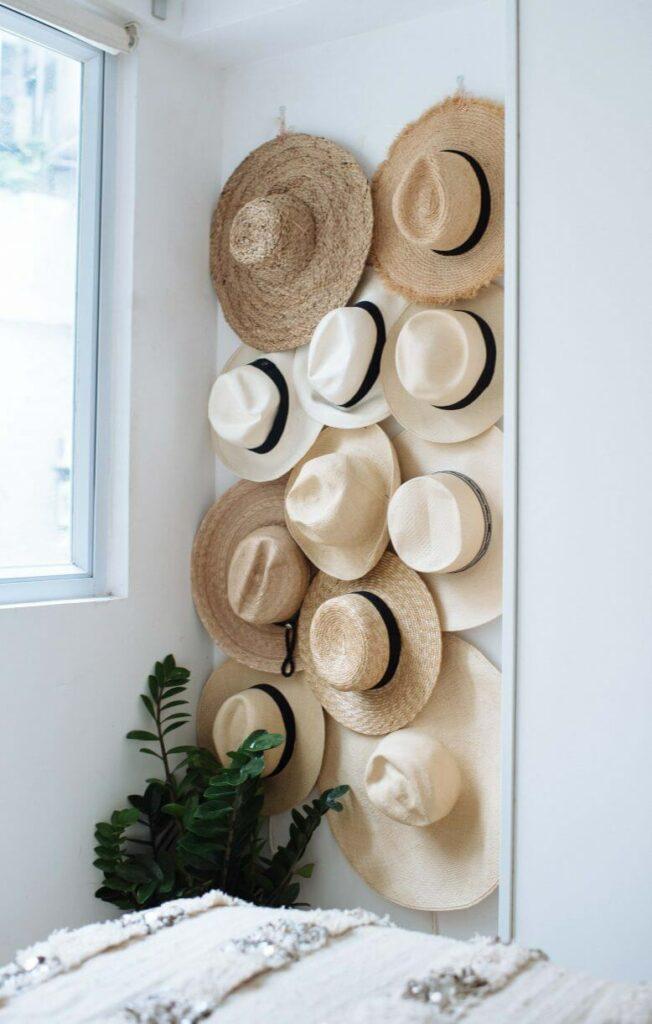 diy hat hanger