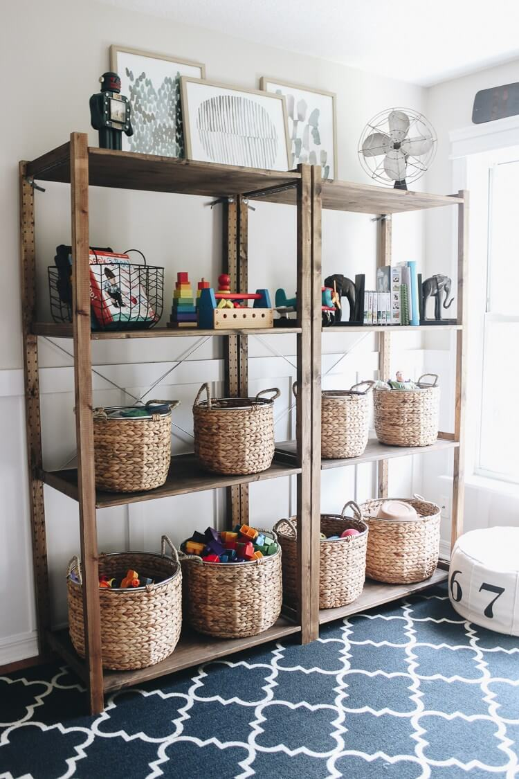diy toy storage ideas for small spaces