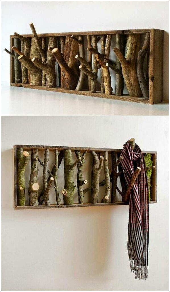 diy wood hat rack