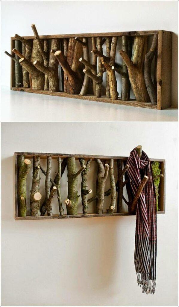diy wood hat rack