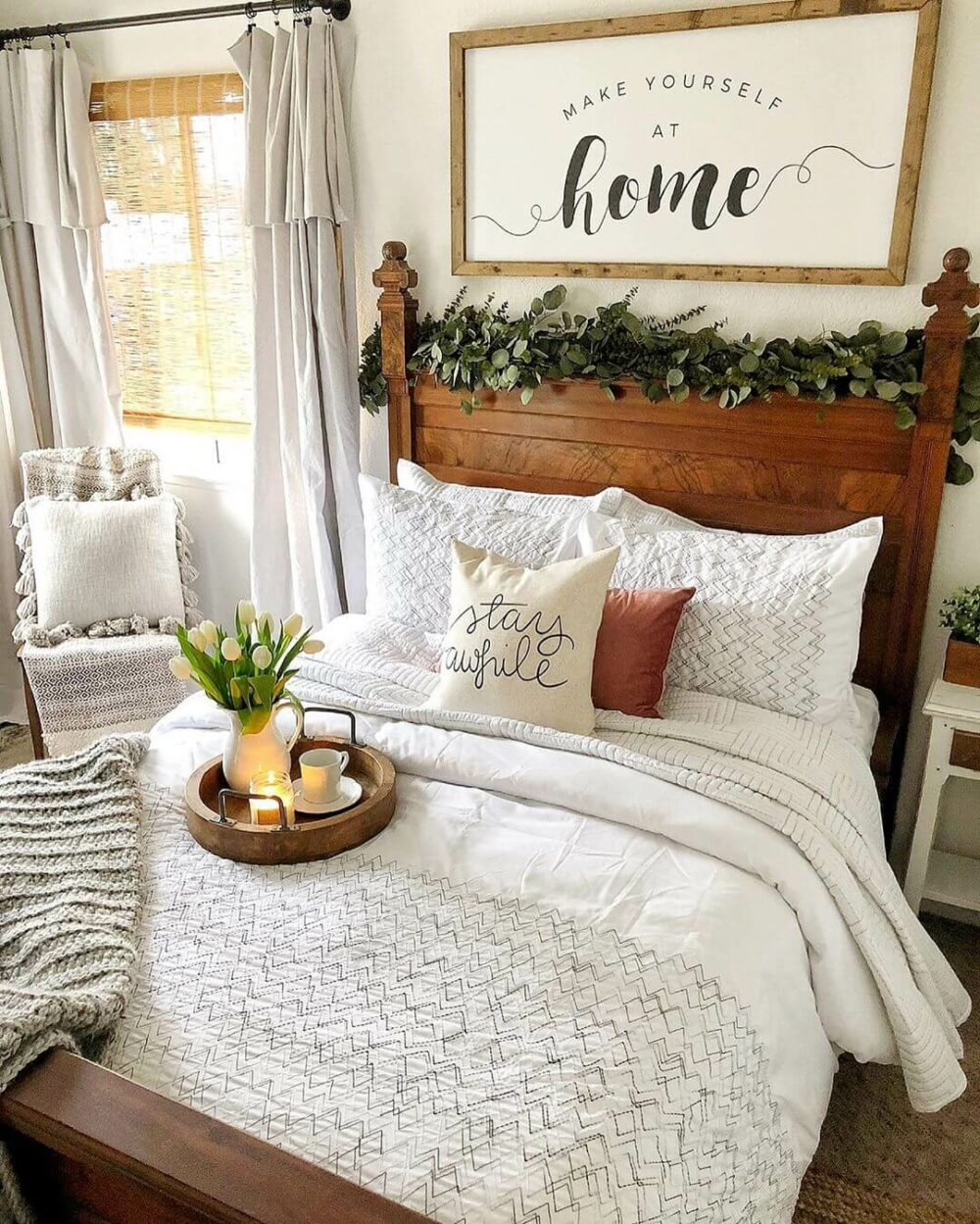 farmhouse bedroom images