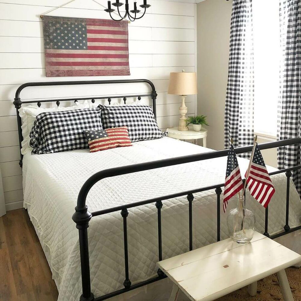 farmhouse style guest bedroom ideas