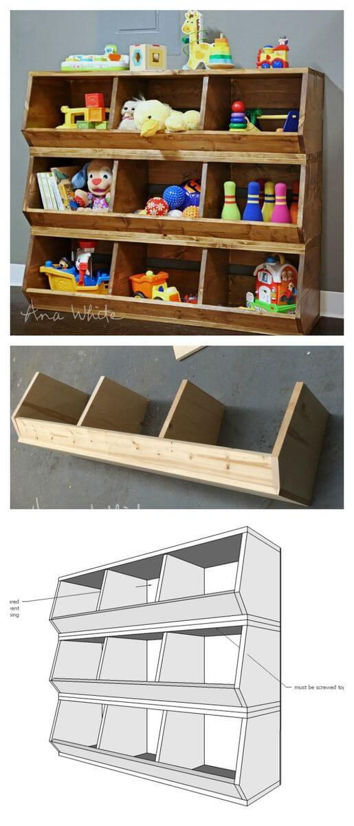 images of toy storage ideas