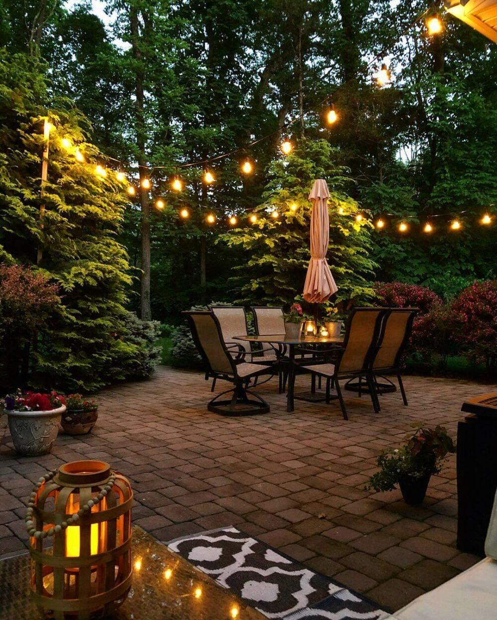 large paver patio ideas
