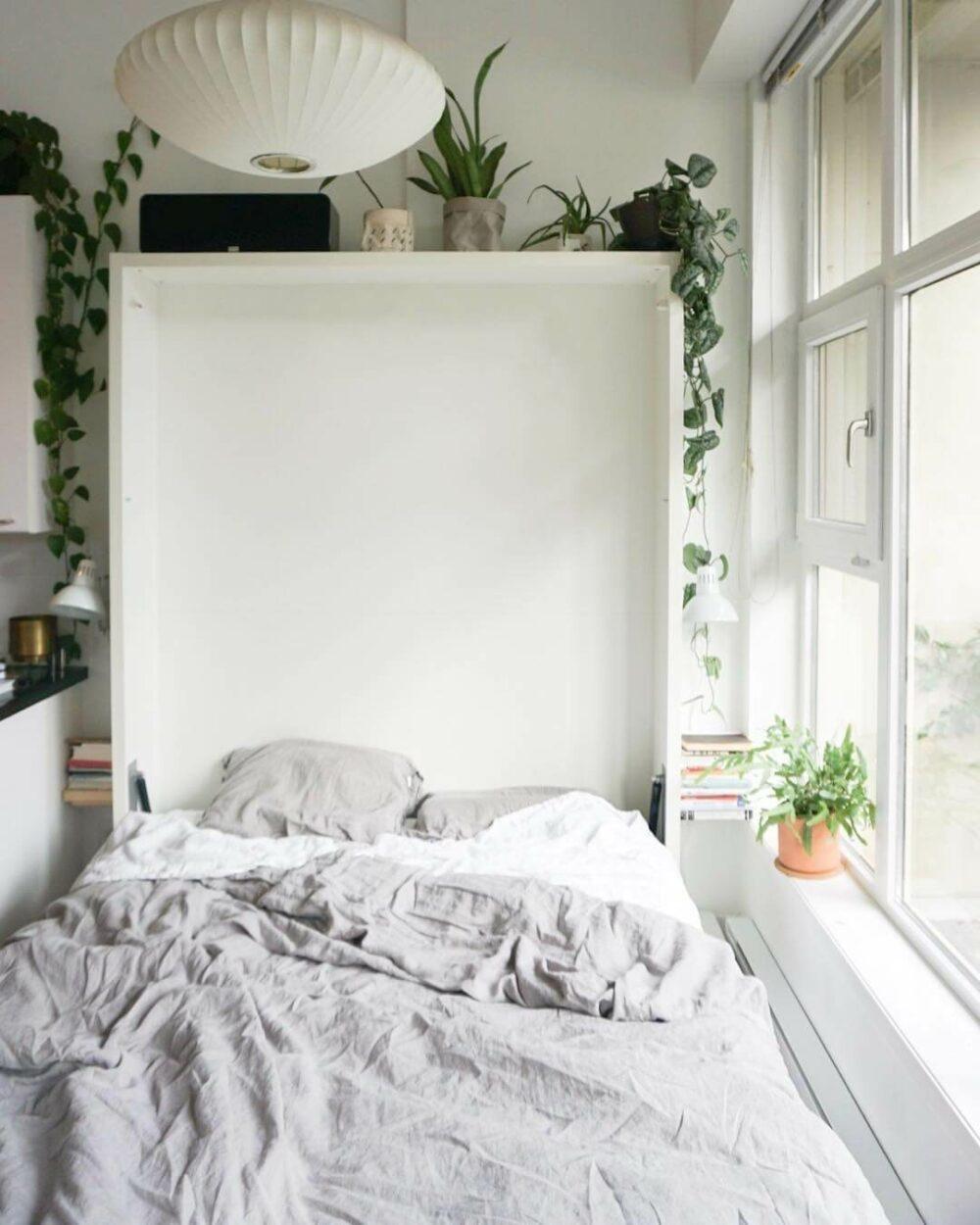 murphy bed frame queen