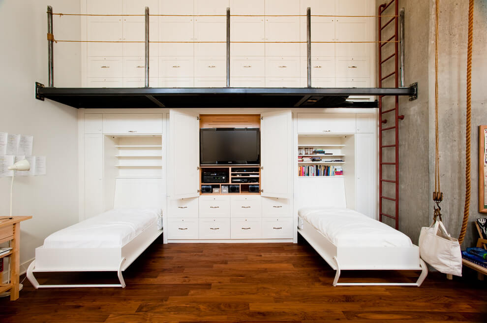 murphy bed twin size