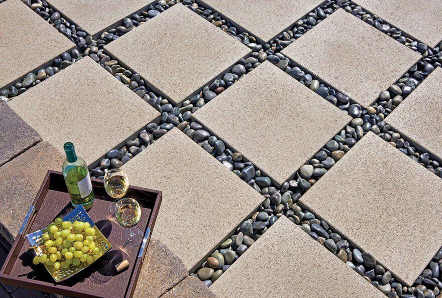 patio paver ideas cheap