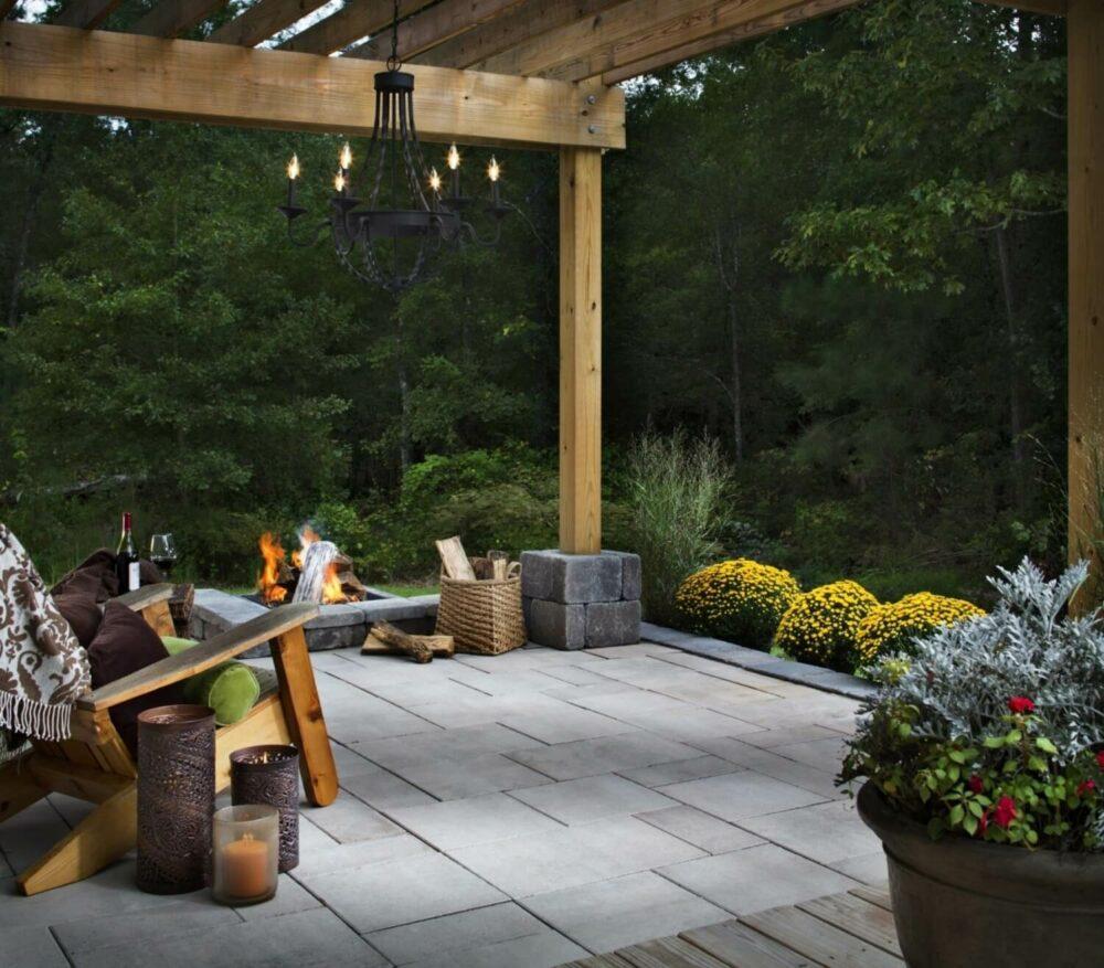patio paver stone ideas