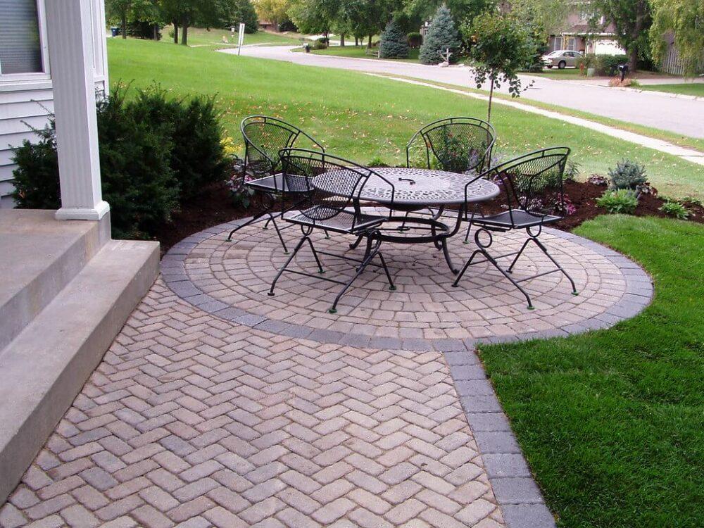paver ideas for patio