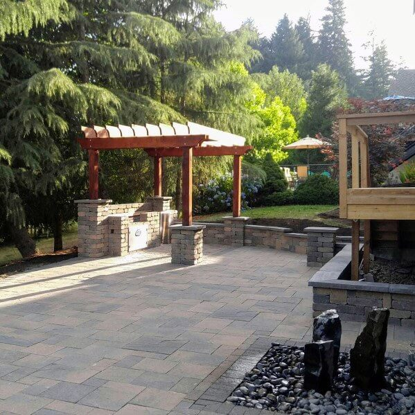 paver patio landscaping ideas