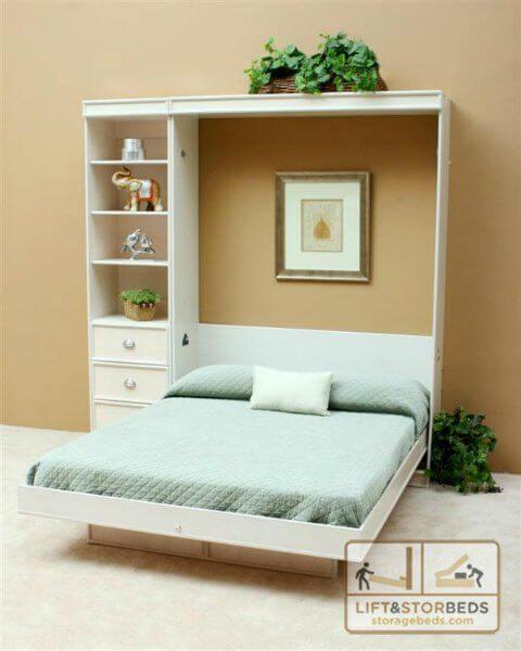 plans murphy bed