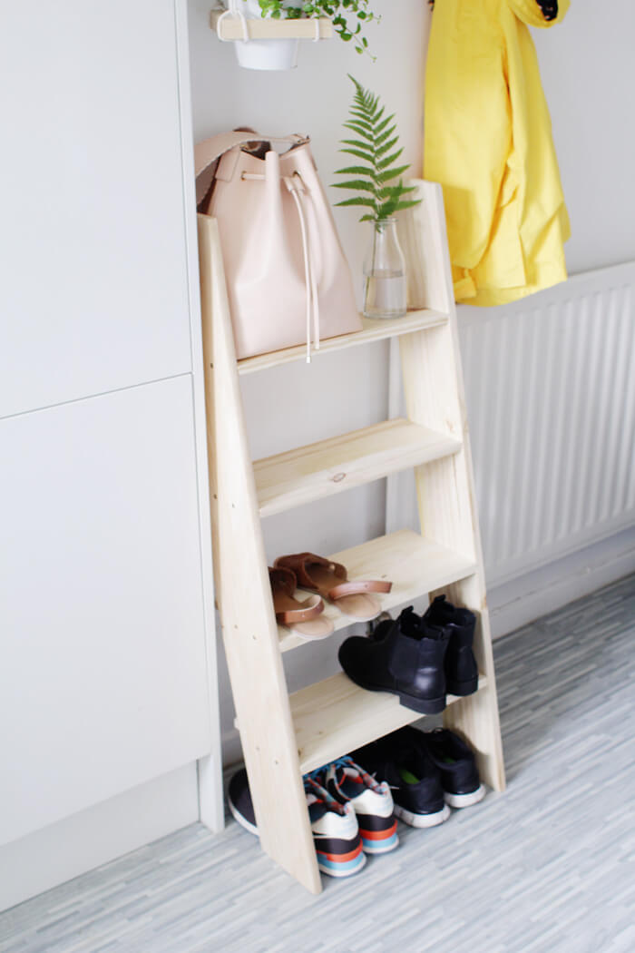 shelves for shoes storage