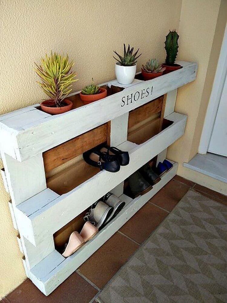 shoe storage entryway bench