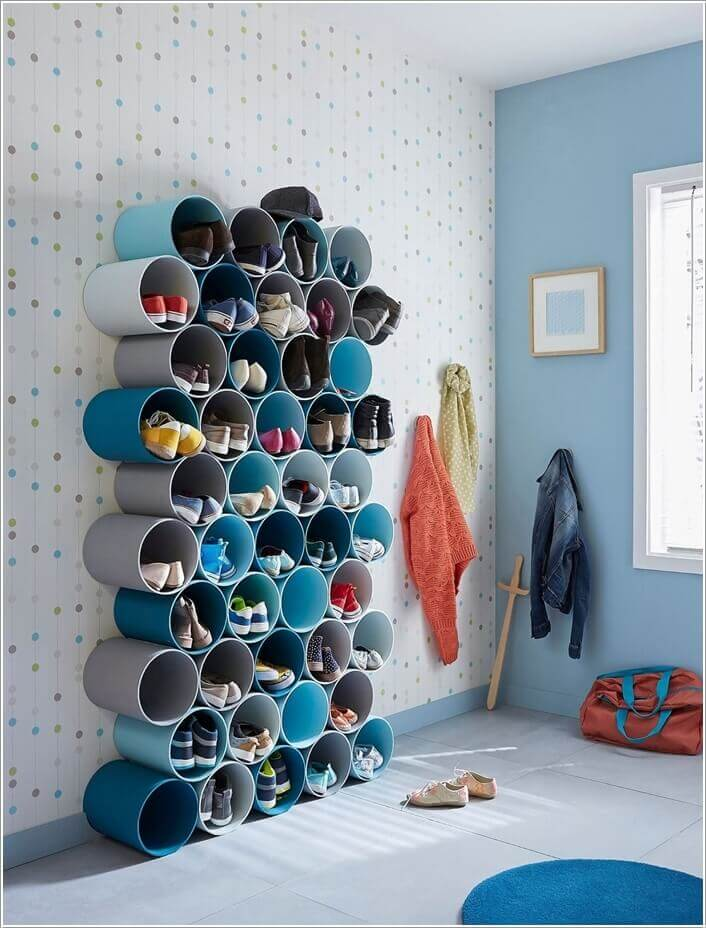 shoe storage vertical