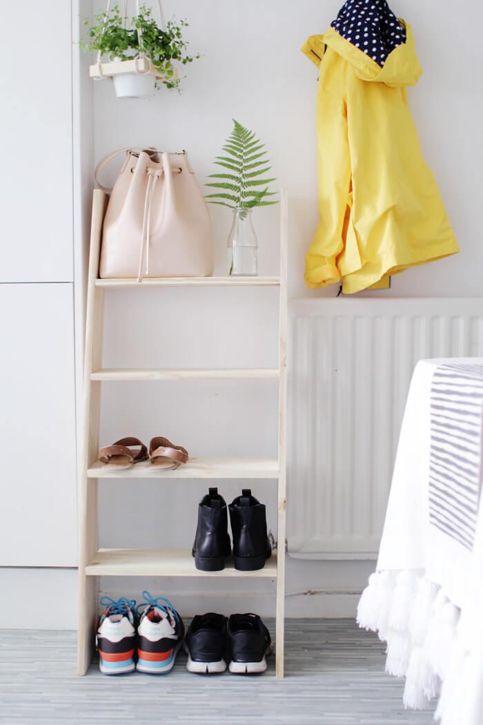 shoes storage shelves