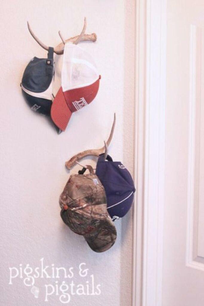 simple diy hat rack