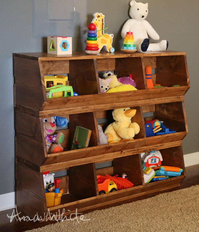toy storage bins diy