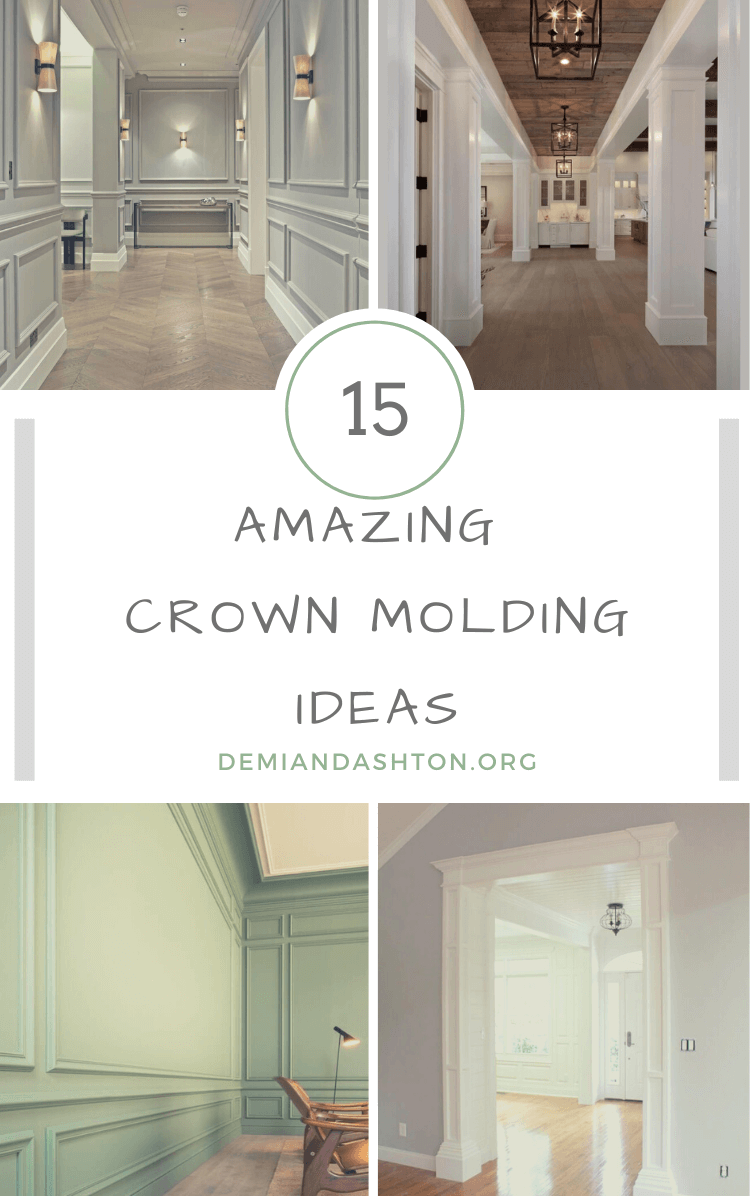 Amazing Crown Molding Ideas