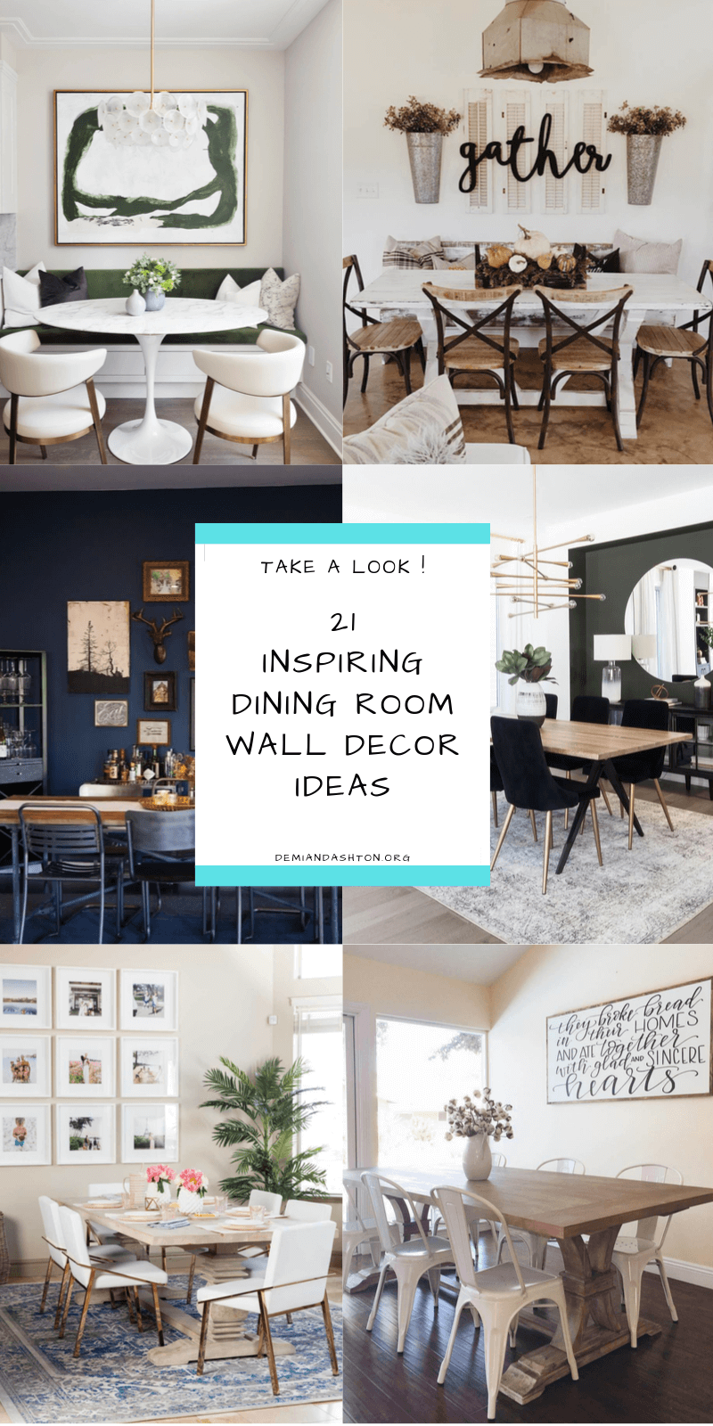 Inspiring Dining Room Wall Decor Ideas