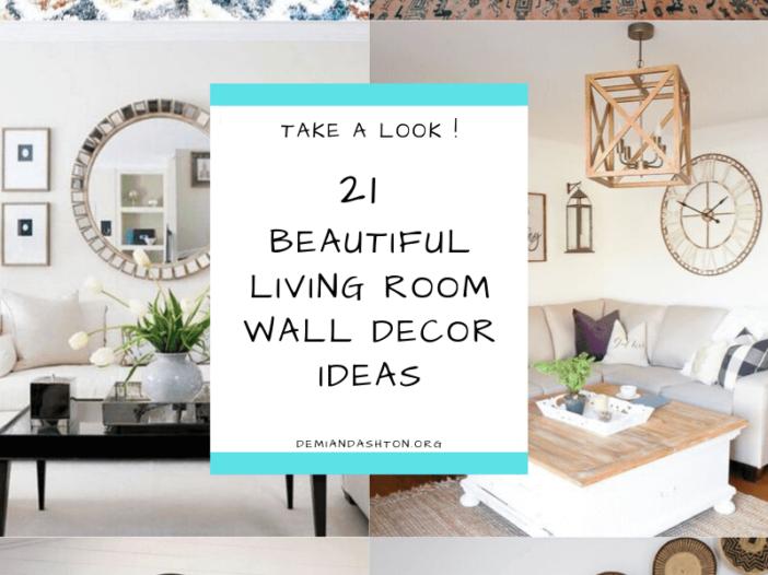 Beautiful Living Room Wall Decor Ideas