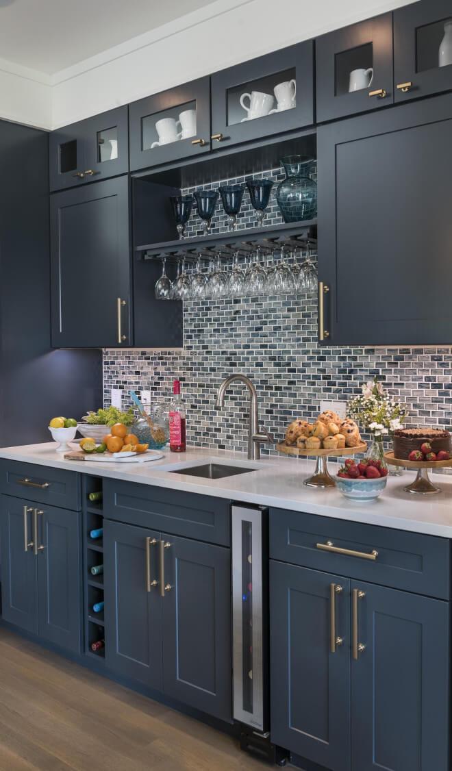 above kitchen sink cabinet ideas