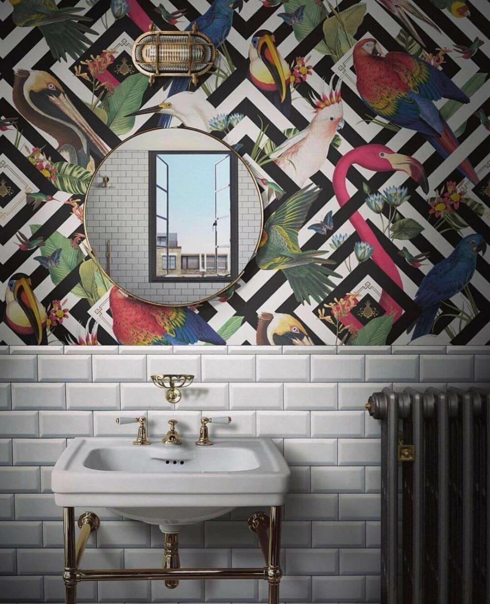 bathroom wall decor stickers