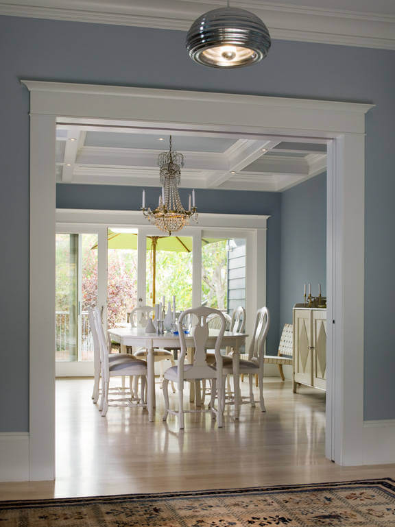 contemporary crown molding ideas