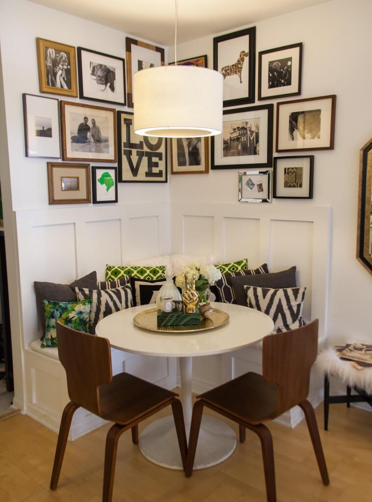 contemporary dining room wall decor