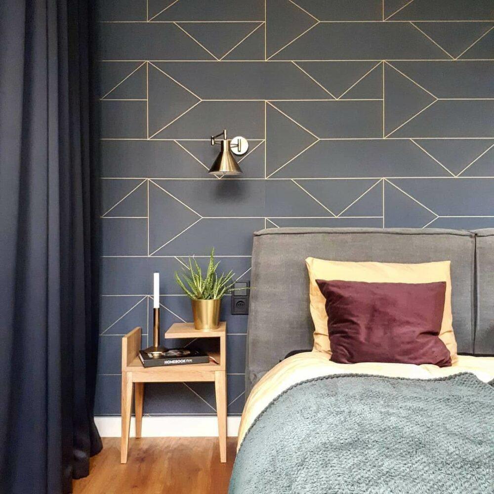 elegant bedroom wall decor