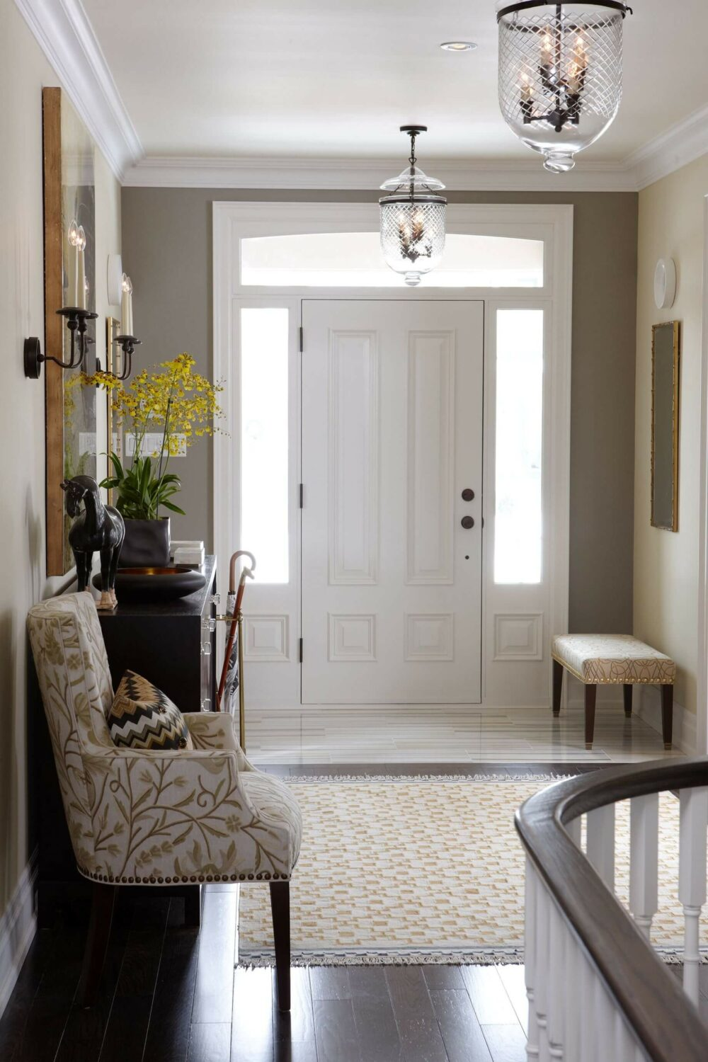 entry hallway lighting ideas