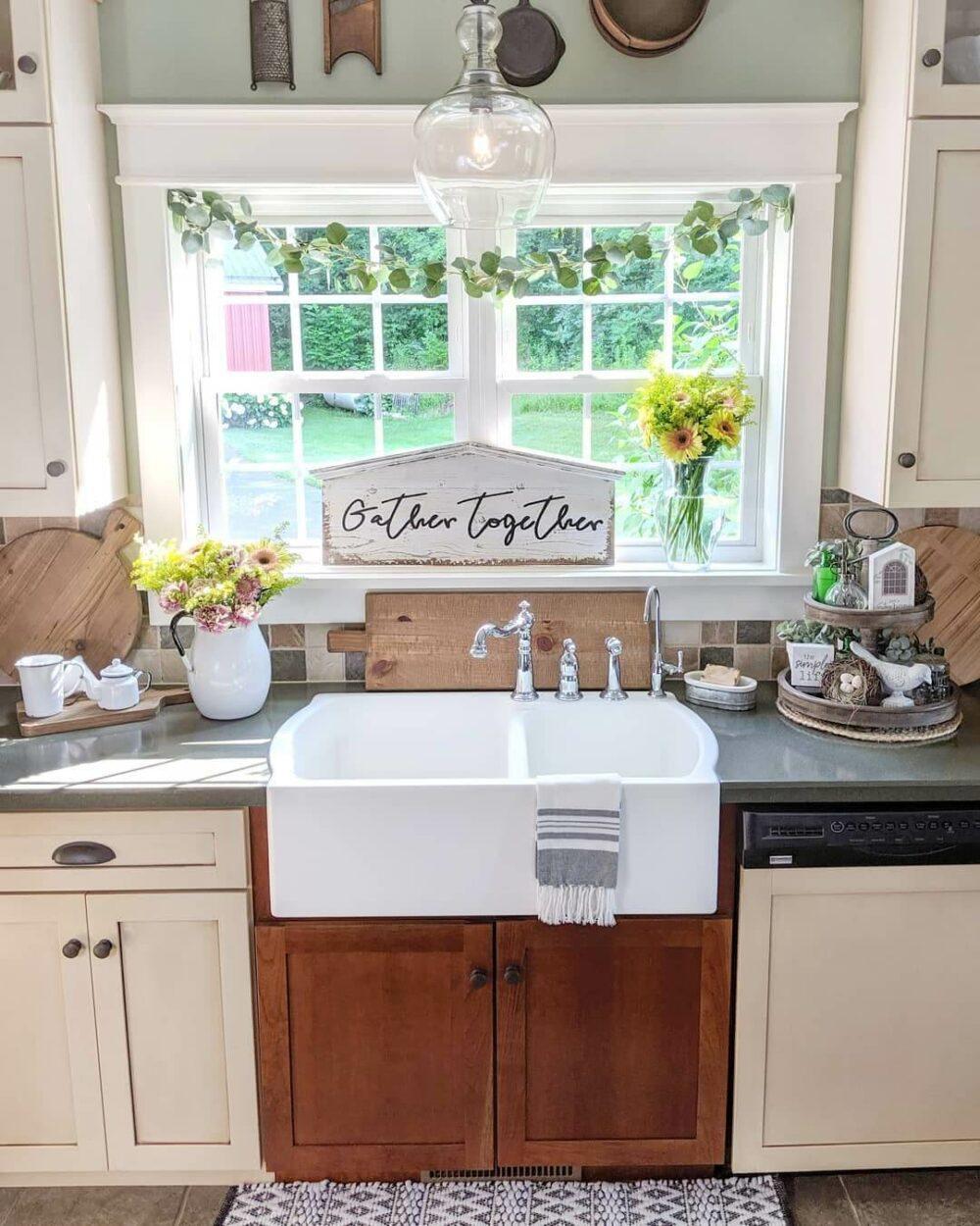 farm kitchen sink ideas