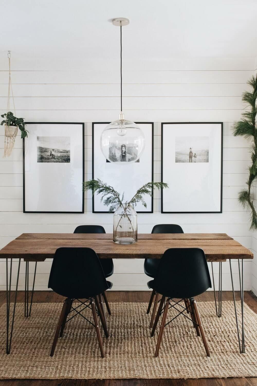 farmhouse dining room wall decor