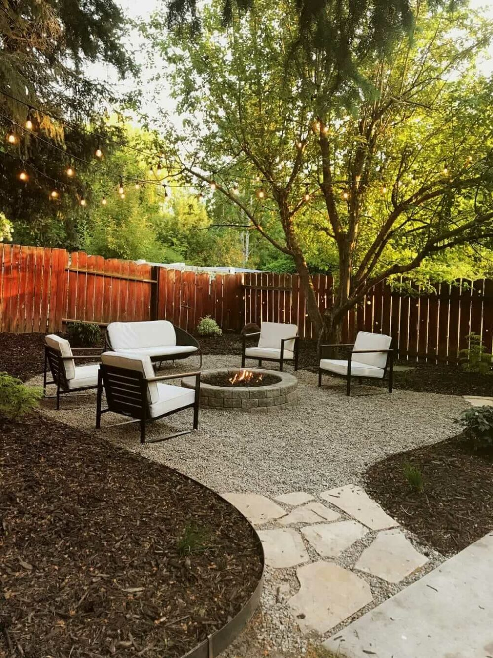 fire pit ideas for backyards