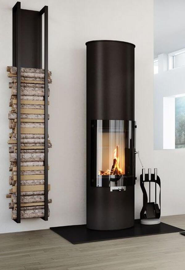 firewood storage ideas indoor