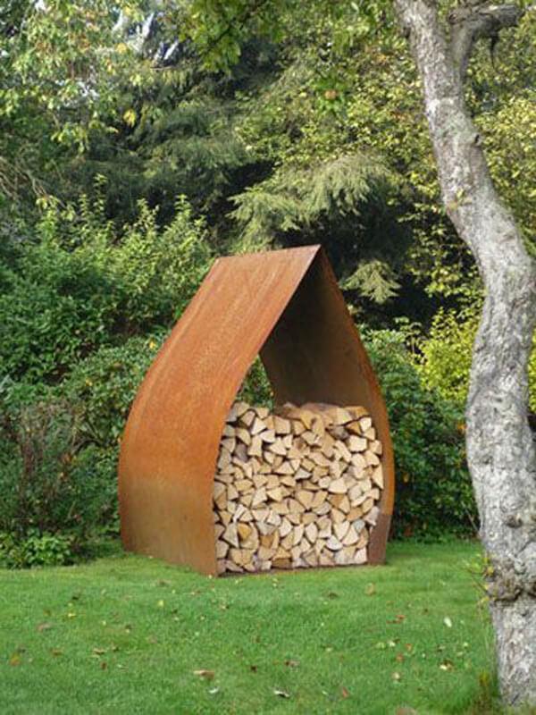 firewood storage outdoor