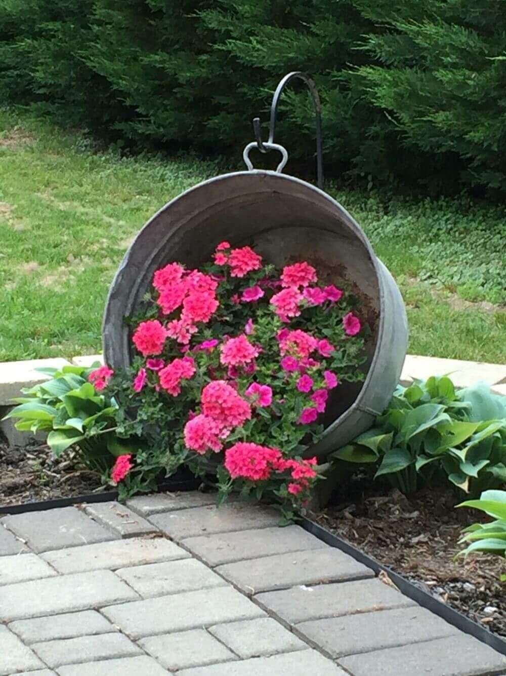 flower bed ideas cheap
