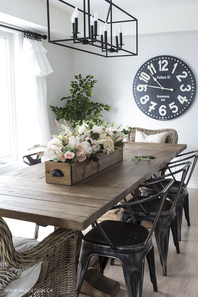 french country dining room wall decor