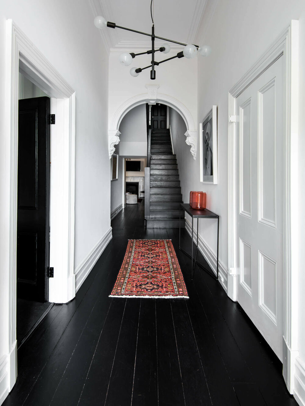 hallway stairs lighting ideas
