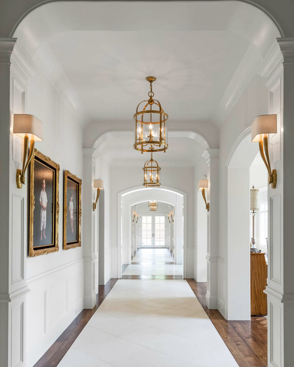 hallway track lighting ideas