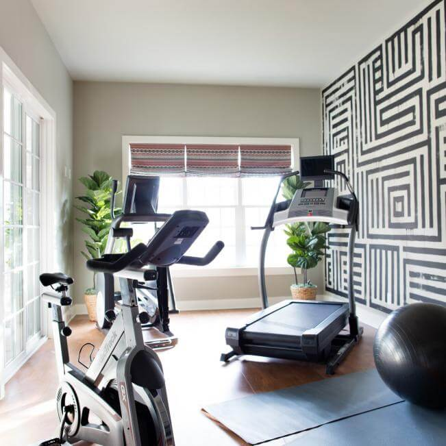 home gym ideas for small room