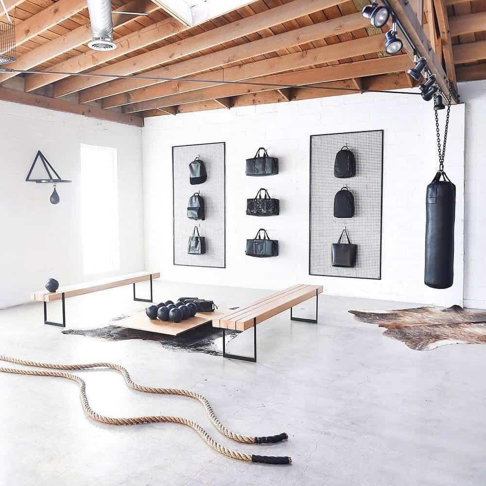 home gym storage ideas
