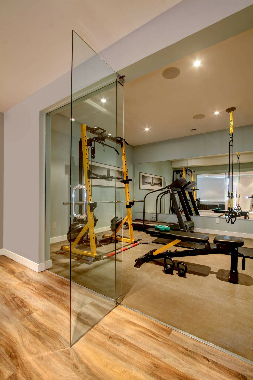 home gym wall ideas