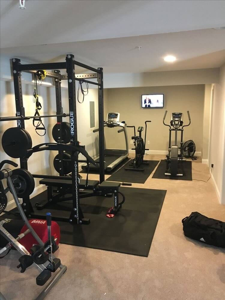 in home gym ideas