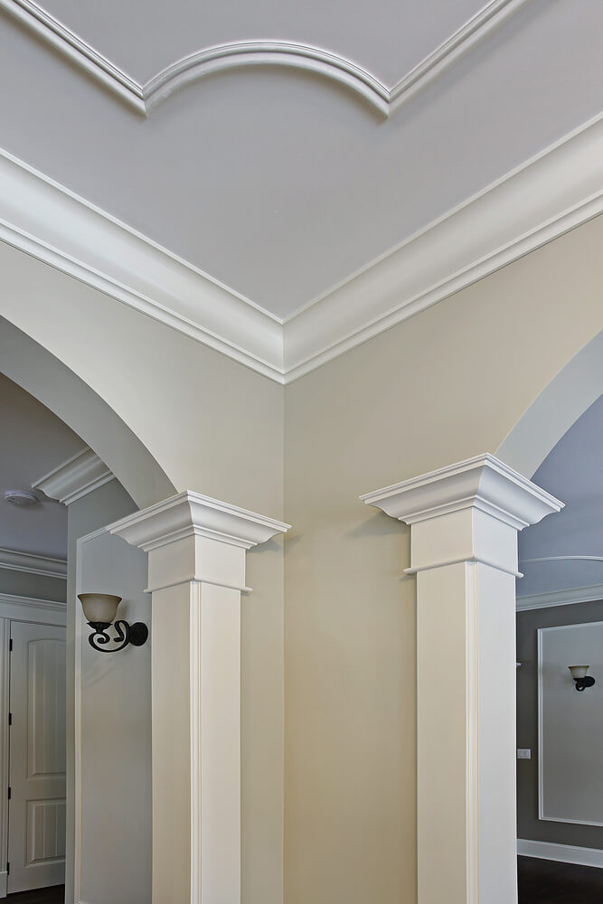 inexpensive crown molding ideas