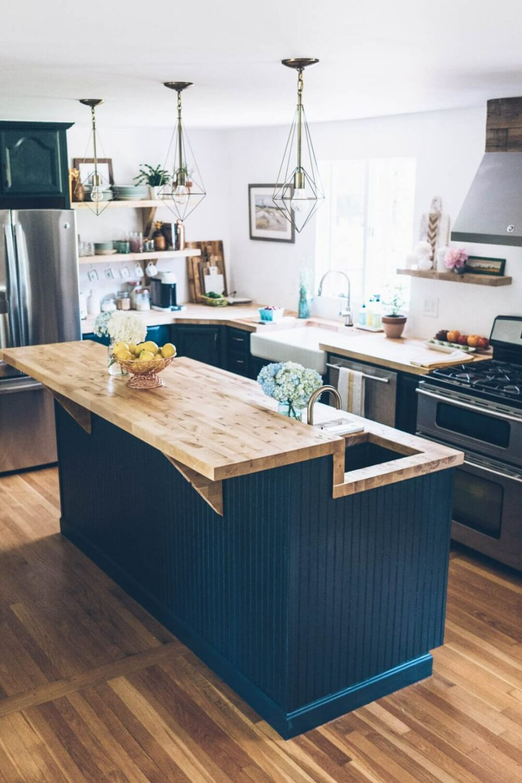 inexpensive kitchen island ideas