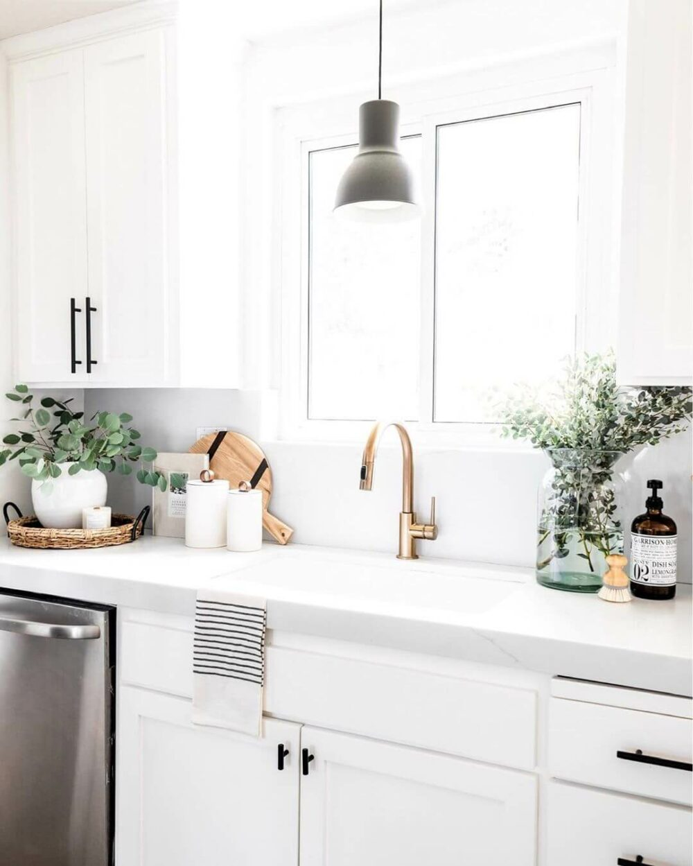 kitchen sink lighting ideas