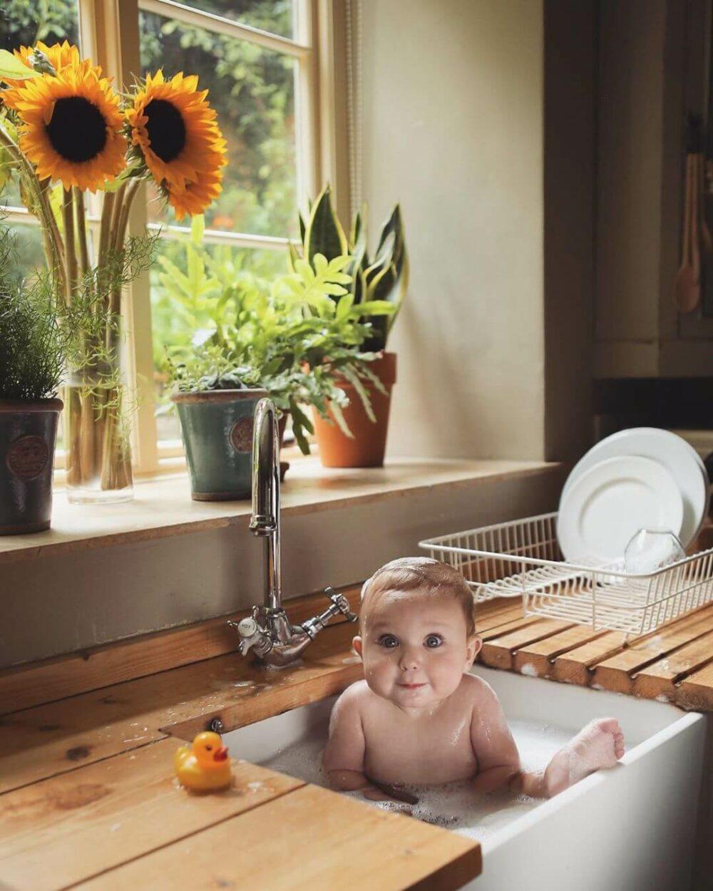 kitchen sink organization ideas